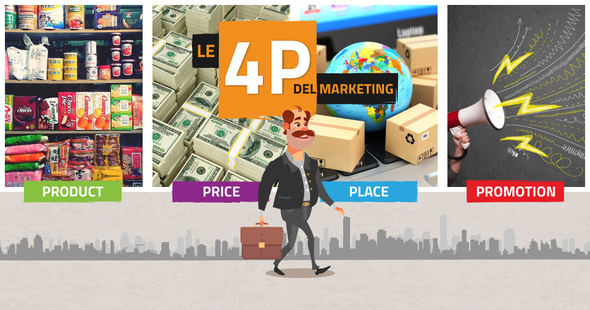 L'importanza delle 4 P del Marketing