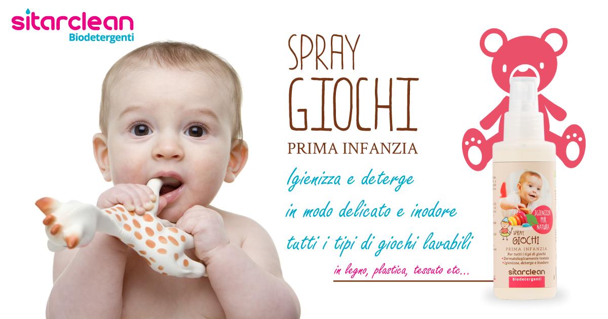 Spray giochi prima infanzia