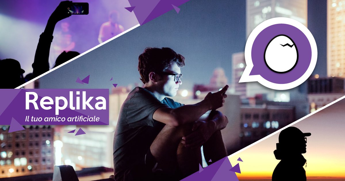 Replika: l´app che ci rende sempre più vicini all´universo distopico di Black Mirror