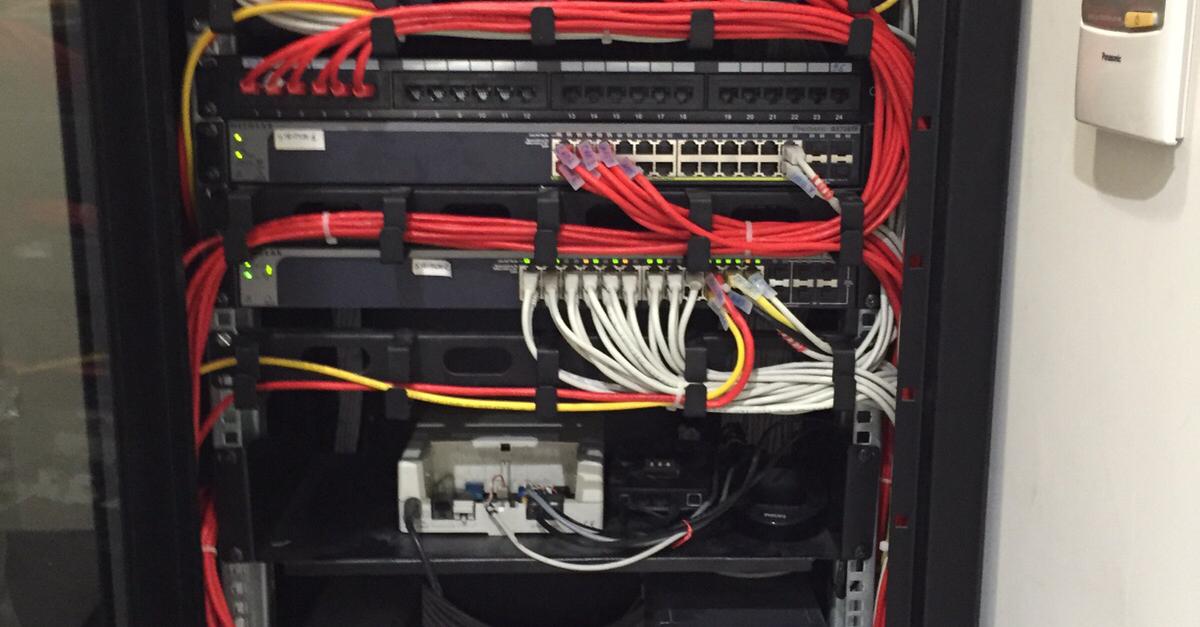 Schema Cablaggio Patch Panel : Infrastrutture di reti lan