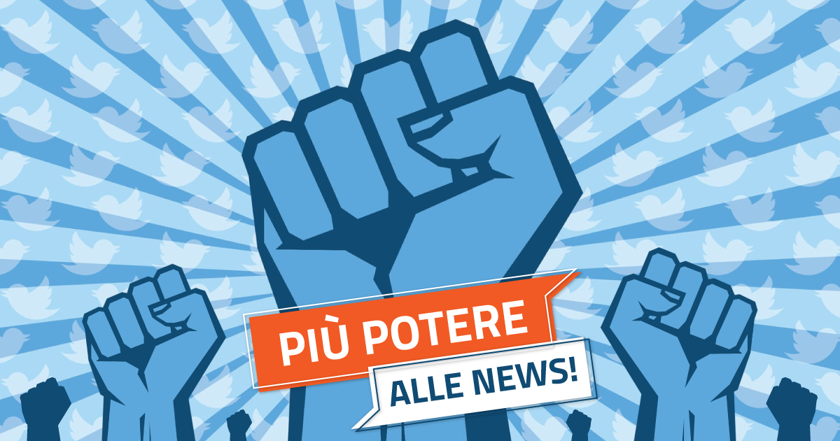 Twitter spinge sulle notizie: più potere alle news!
